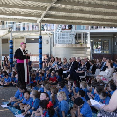 Photo Gallery of the official opening and blessing image